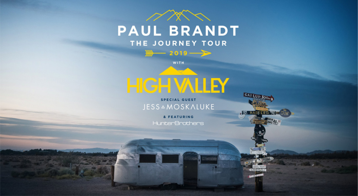 Win Tickets to Paul Brandt's The Journey Tour 2019 | 93 7 JR Country
